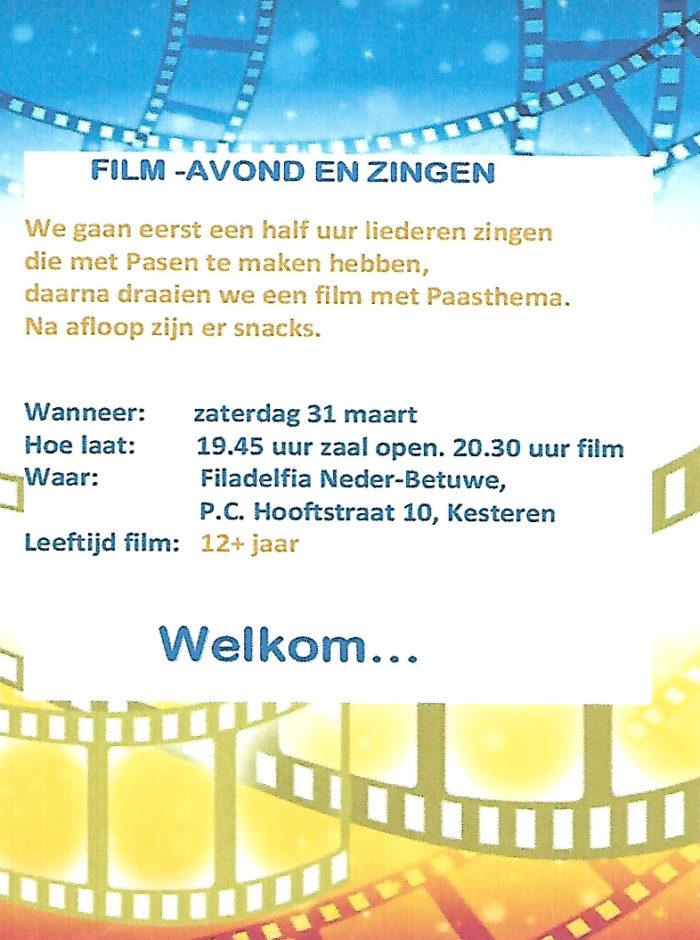 Filmavond & zingen @ Kesteren | Gelderland | Nederland